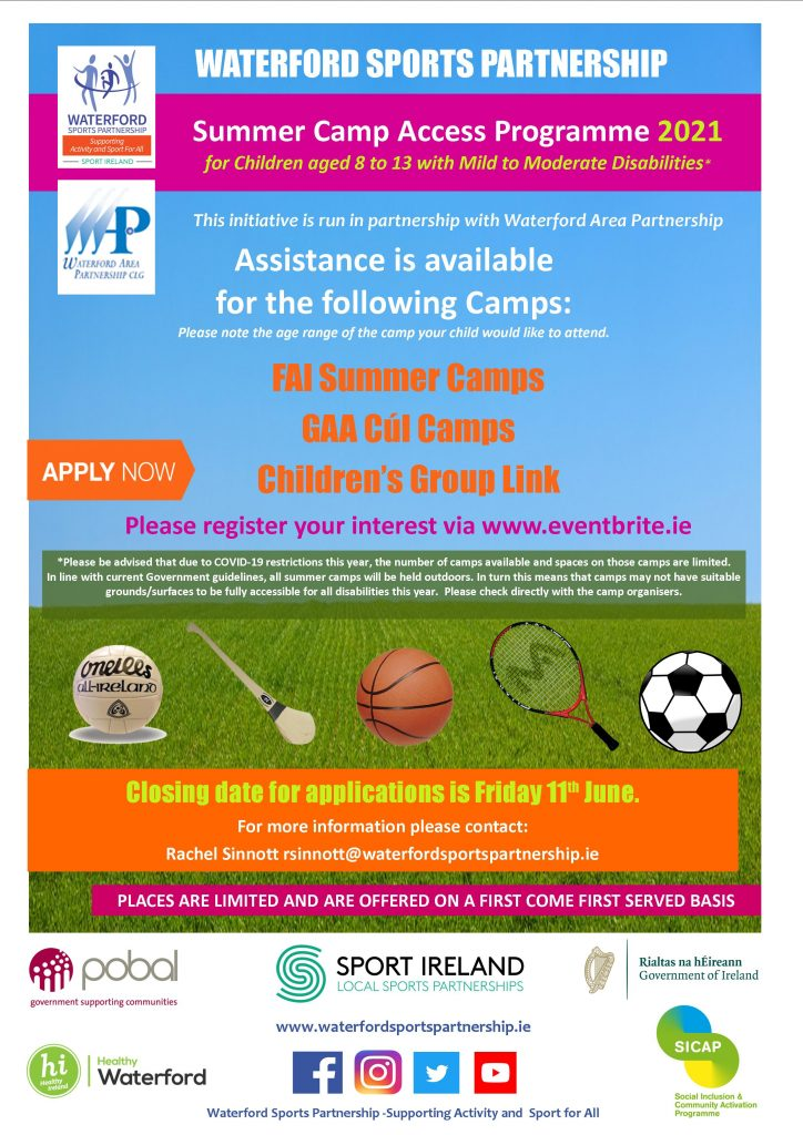Summer Camp Access Poster