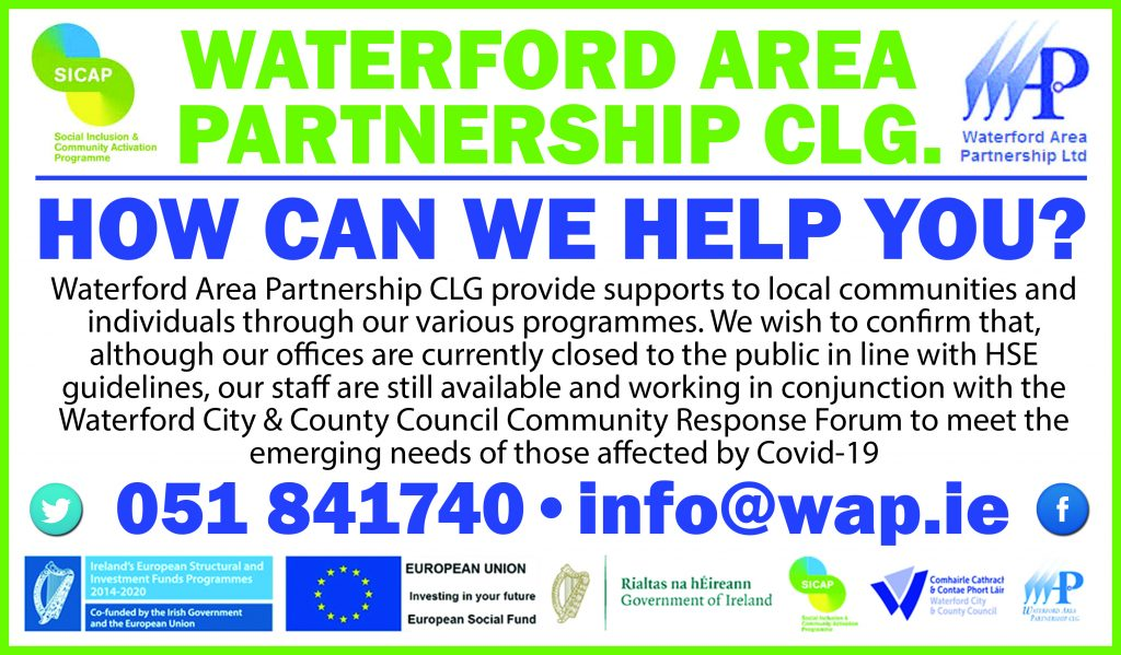 WATERFORD AREA PARTNERSHIP HPA